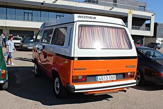 VW T3 camper Westfalia.