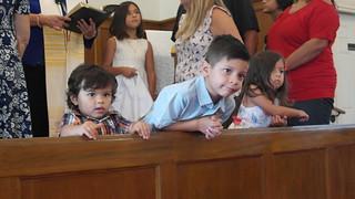 Baptism Sunday!