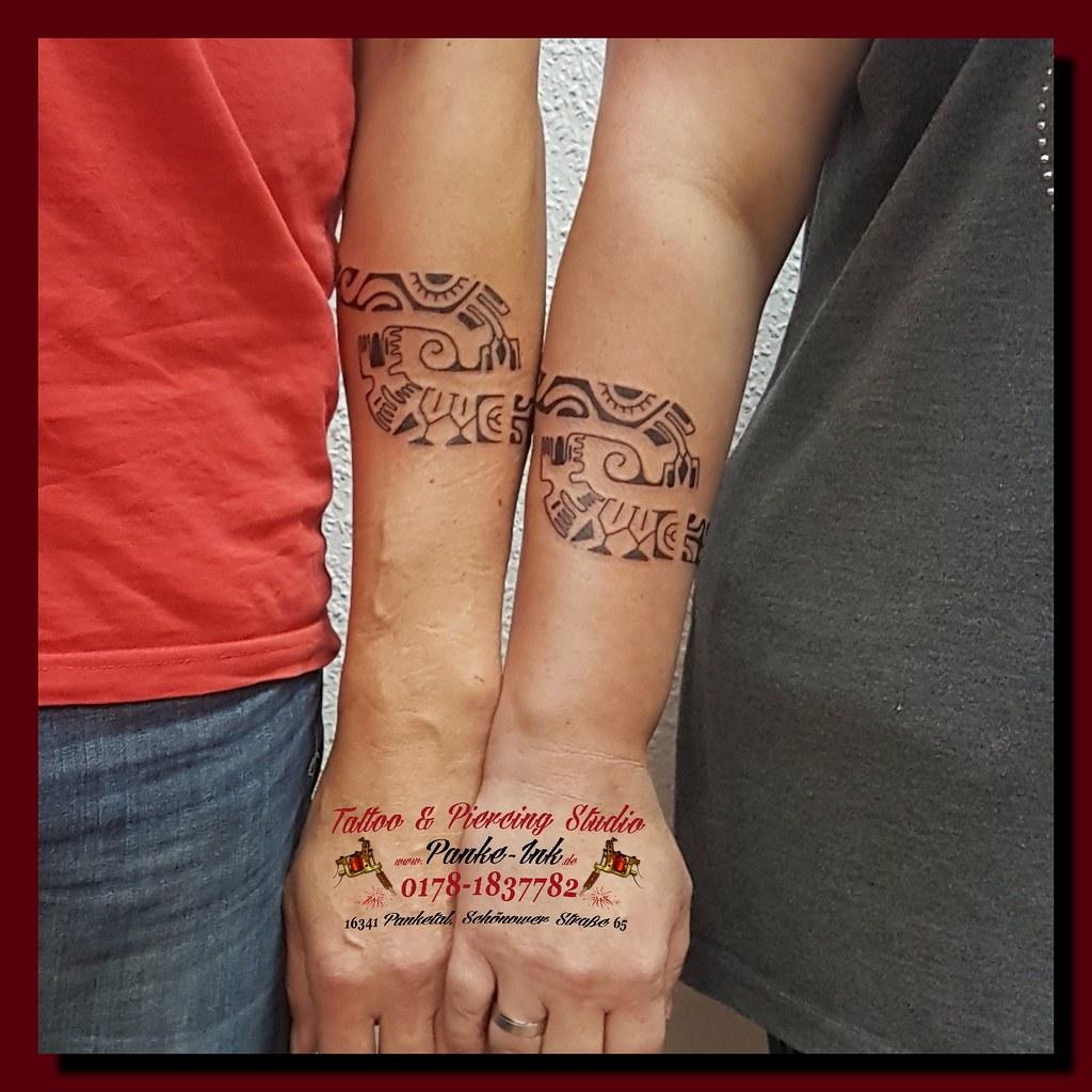 Bilder partner tattoos Linda Evans