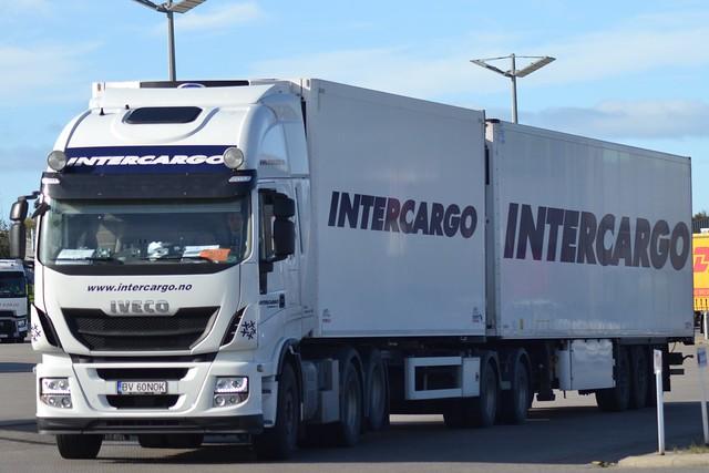 Iveco Stralis - Intercargo Scandinavia - Intercargo Scandinavia.no -  Sass Logistics SRL - RO  BV 60 NOK