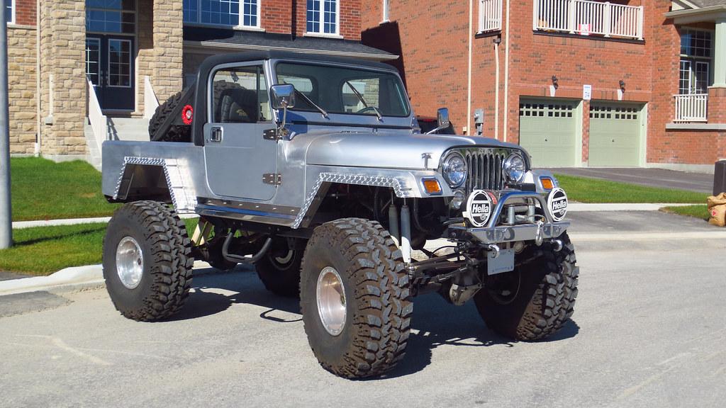 1984 Jeep CJ | This 1984 Jeep CJ has an all aluminum body an