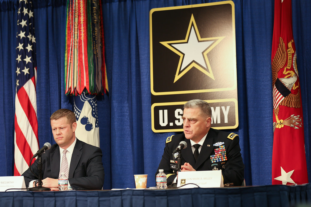 171009-A-HJ018-001 | U S  Army Gen  Mark Alexander Milley (r… | Flickr