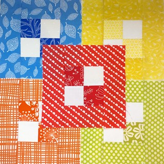 5 October blocks for Siblings Together Quilt Bee 2.
