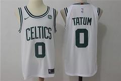NBA Men's Boston Celtics #0 Jayson Tatum White 2017-2018 Nike Swingman Stitched Jersey