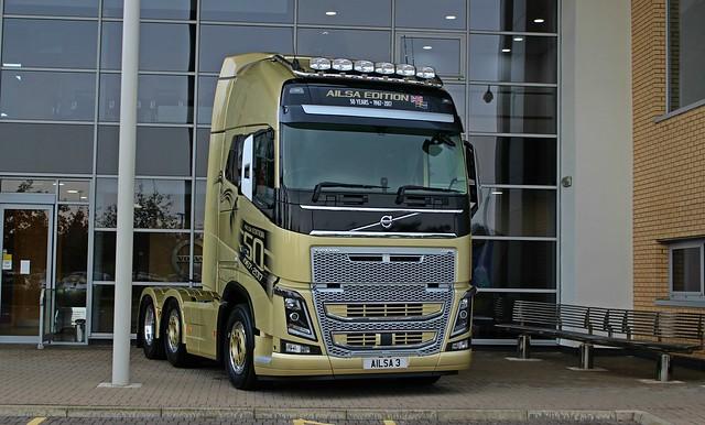 Volvo FH16 Ailsa 3 Edition at Volvo Truck & Bus Cardonald.