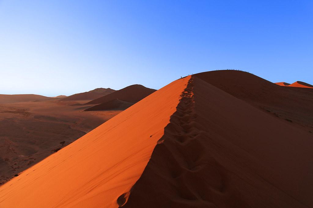 Namibia Dune 45 Sossusvlei Dunes Created By Sand 5 Millio