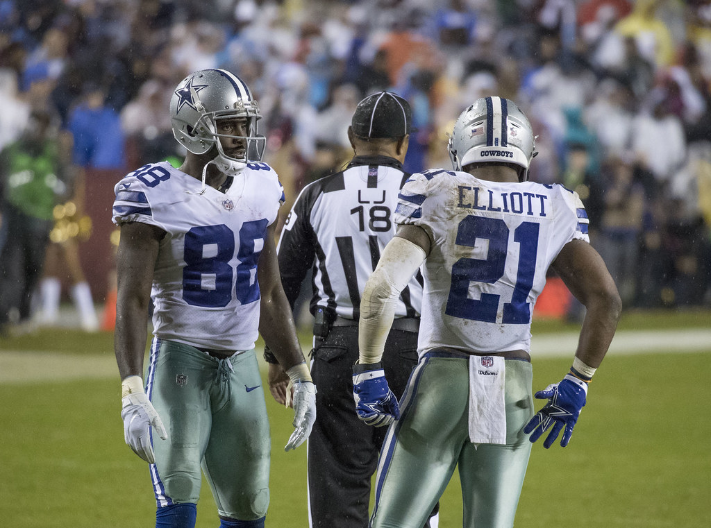 Dez Bryant Ezekiel Elliott Cowboys At Redskins 10 29 17