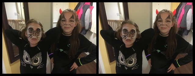 Halloween 2017 - a 3D parallel View stereoscope
