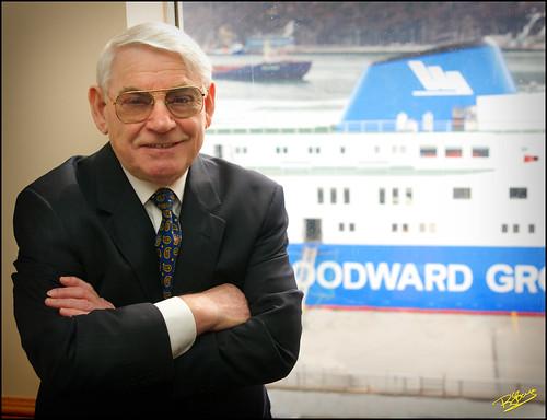 Portrait of Mel Woodward
