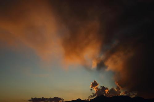 september 16 2017 september162017 91617 9162017 santa cruz county fair santacruzcounty countyfair santacruzcountyfair sky cloud clouds skyline skyscape arizonasky arizonaskyline arizonaskyscape sunset sun set arizonasunset red orange salmon black gold golden sonoita sonoitaaz