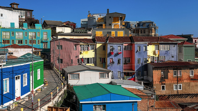 Colorful #Valparaiso 7031 as seen by #ArturoNahum