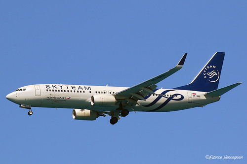 VP-BMB Aeroflot - Russian Airlines Boeing 737-8LJ(WL) (Skyteam c/s) | by Planes , ships and trains!