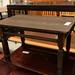 Oak laminate low coffee table E35