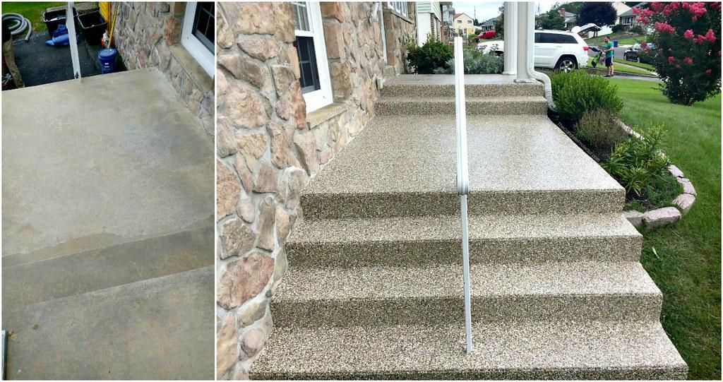 Concrete Steps Graniflex Resurfacing Philly