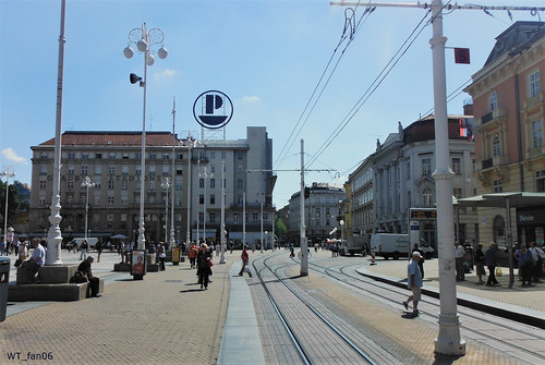 Tram Stop Zagreb | by WT_fan06