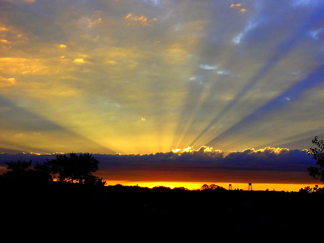 Today New York Sunset