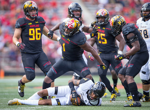 NCAA Football 2017: Towson vs Maryland SEP 9   by f3niks
