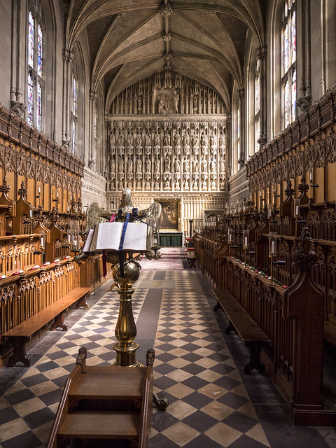 Oxford 2017: Chapel view