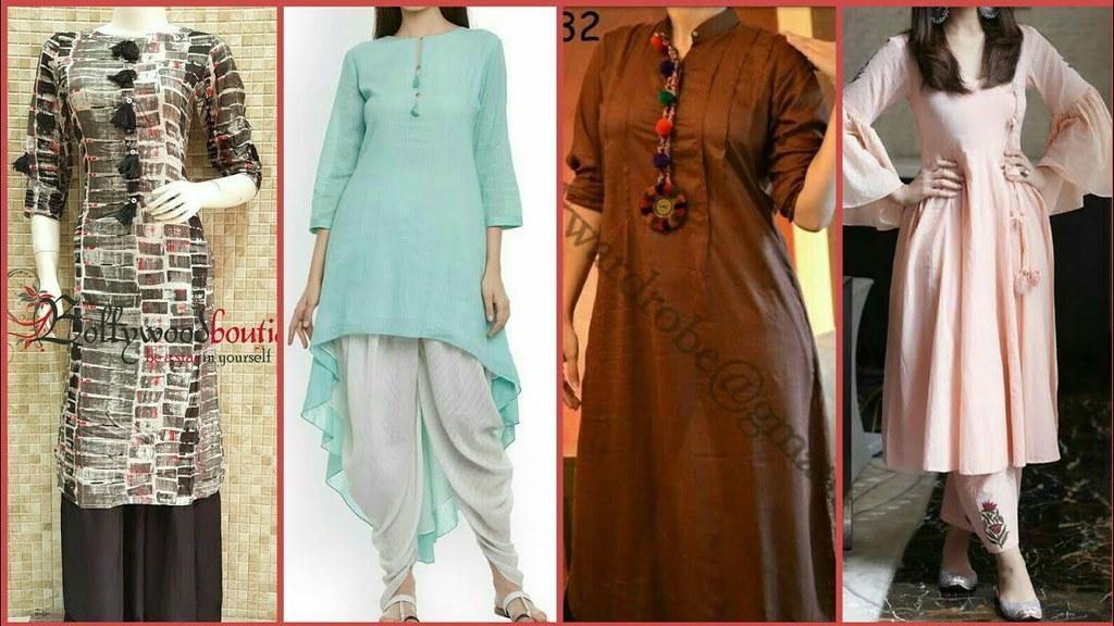 94c515c762 ... Office Wear Simple & Stylish Salwar Suit Design Ideas/Churidaar kurta  Design Ideas 2017