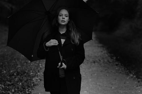 Lonley rainwalk (Olivia Marei)