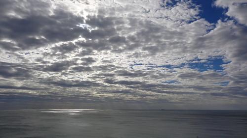 sunlight through cloudy ocean sunlightthroughacloudyocean durban southafrica south africa kwazulunatal sea water nature outdoors travel travelling sun sunset clouds cloudysky cloud cloudyocean