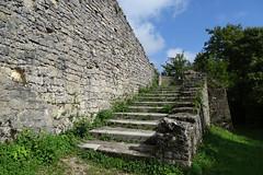 Ruine Farnsburg-Aufstieg zur Langen Stiege