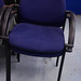 Fabric stacking chair E30