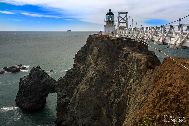 Point Bonita Lighthouse from the Other Side