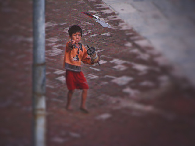 Child in Patan