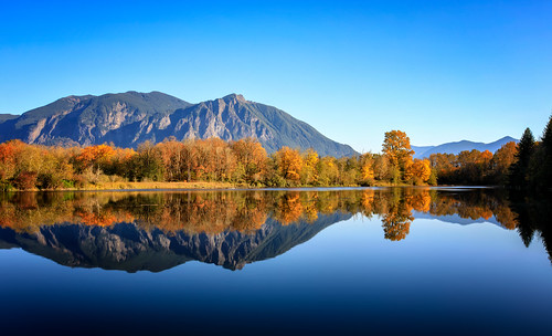 borstlake millpond mtsi reflections autumn mountains sky landscape trees lake