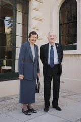 Ruth Baxendale OAM and Alec Baxendale, Government House 2000