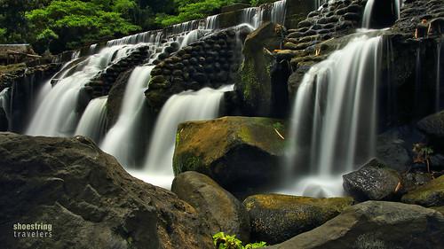 bumbunganecopark river waterfall falls landscape outdoor rocks water waterscape longexposure waterblur ndfilter