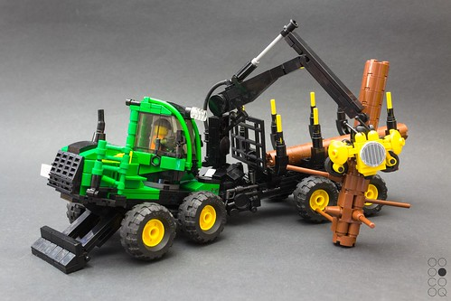 John Deere Forwarder 1910 G (redesign)