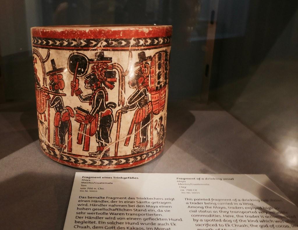mayan chocolate mug
