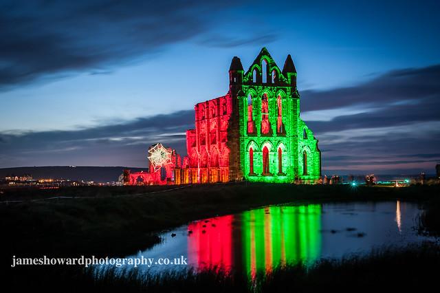 Whitby Abbey Illumination