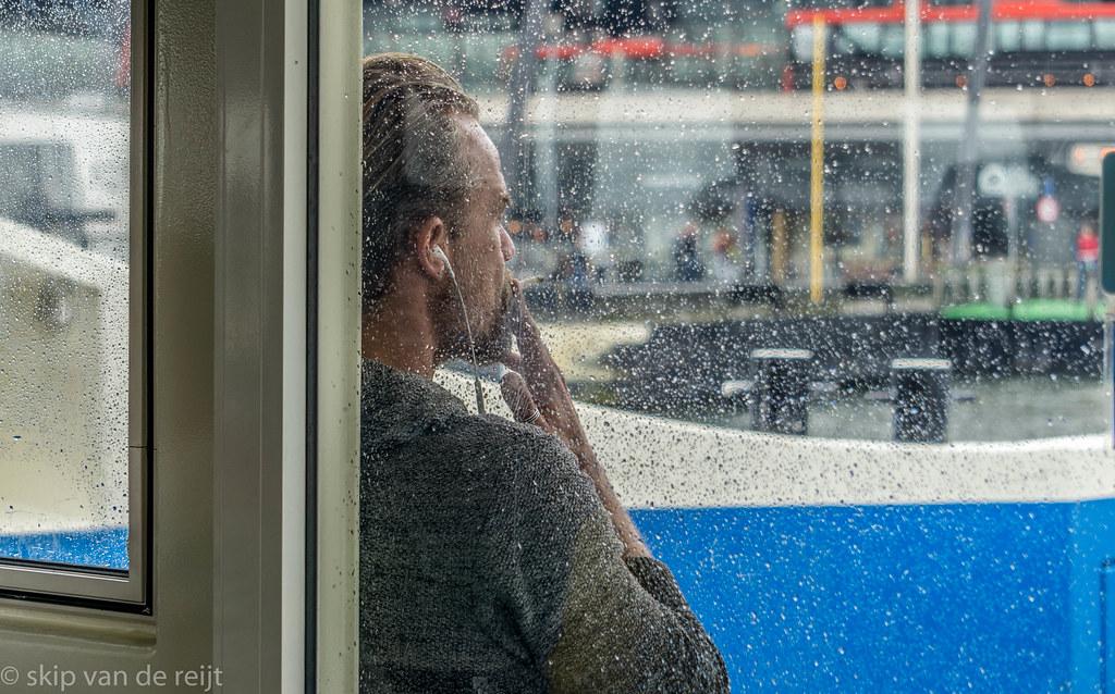 Smoking in the Rain | Skip van de Reijt | Flickr