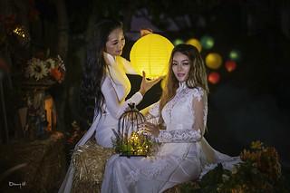 Fantasy Art Photography Vietnamese Fashion Model Ao Dai Trang traditional dress | by Hai Tuoi