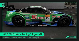 #25 D'Station Racing Super GT | by Alex-Banks [ABGRAPHICS]