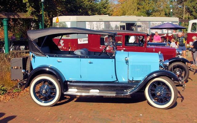 1929 Ford Model A @ Oude Voertuigen Dag