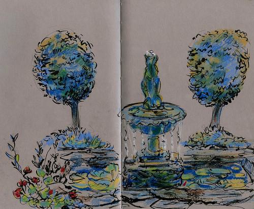 Wales:  private Italianate garden in Abersoch! | by Laura Frankstone