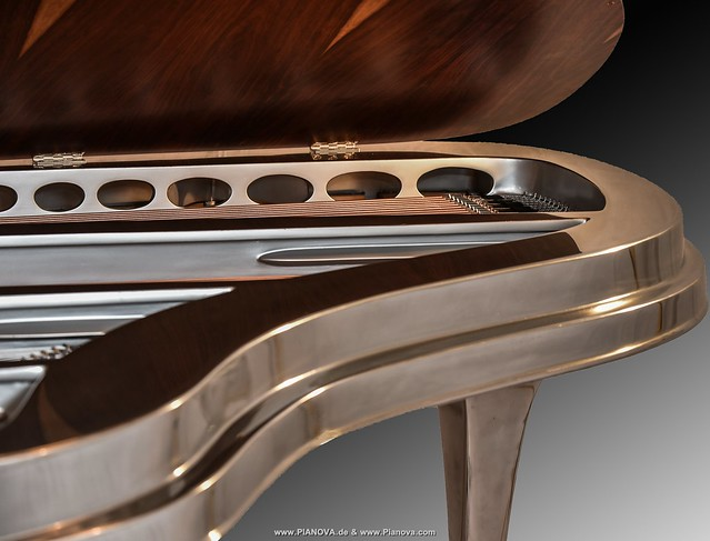 Rippen Flügel aus Aluminium