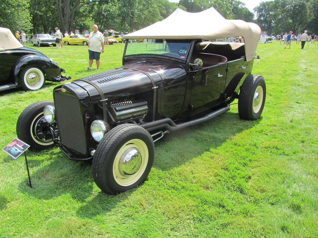 1929 Ford Model A Phaeton Hot Rod There Was A Class For Tr Flickr