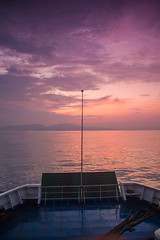 Morning at Sunda Strait