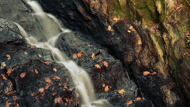 thundering brook falls I - killington, vt