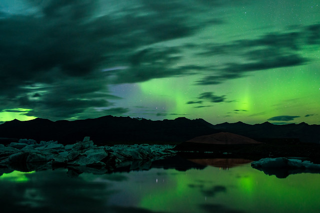 Jökulsárlón Aurora