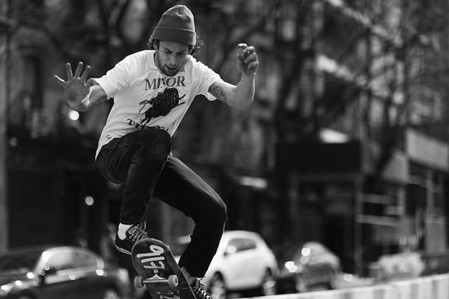 Minor Threat  Manhattan Skater.