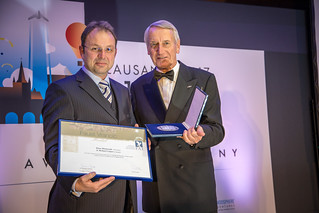 Klaus RHEINWALD (Germany) - 2017 FAI Awards Ceremony | by FAI - World Air Sports Federation