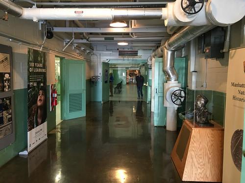 Corridor to the reactor room. | by mightyohm