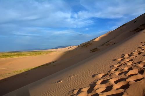 mongolia gobi desierto desert dunas dunes