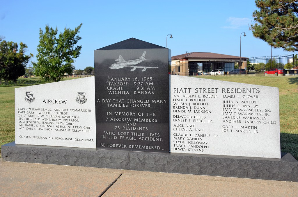 Accident Monument: To Those Lost in the Crash of KC-135A S